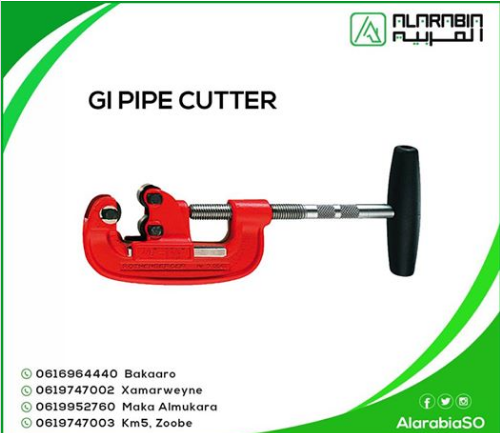 GI PIPE CUTTER