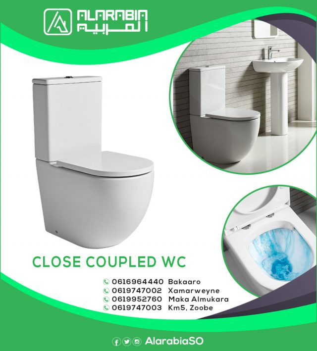 CLOSE COUPLED WC